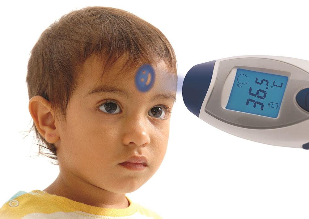 nhiệt kế đo trán