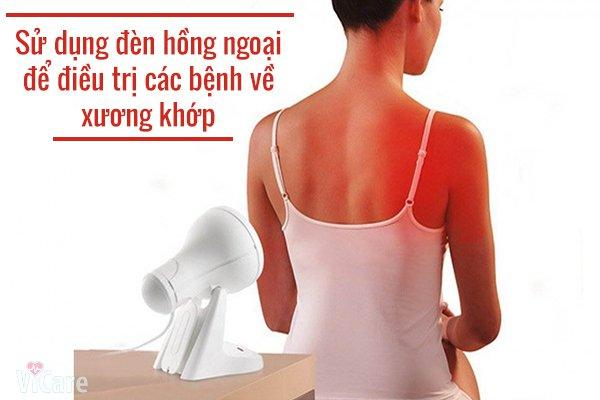 đèn hồng ngoại trị bệnh đau nhức cơ